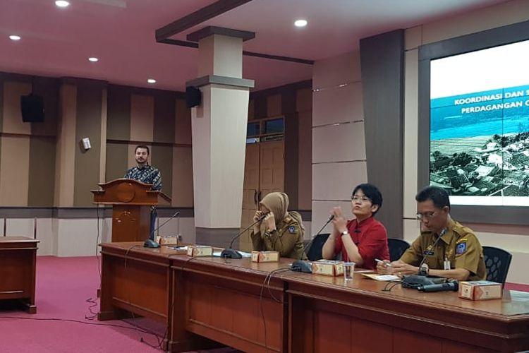 Dalam sosialisasi tersebut, Kemnaker pun turut menggandeng Organisasi Internasional untuk Migrasi (IOM) di Makassar, Sulawesi Selatan (Sulsel).