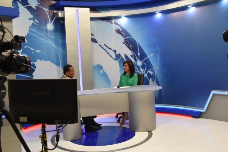 Laboratorium studio tv Vokasi UI