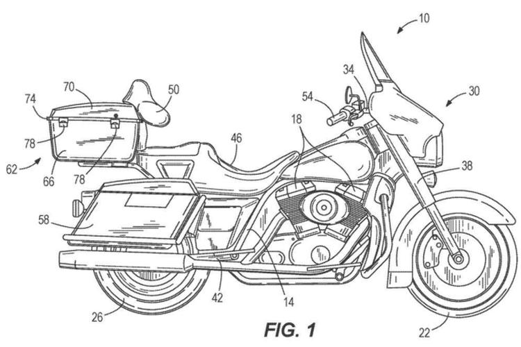 Harley Davidson kembangkan sistem self balancing