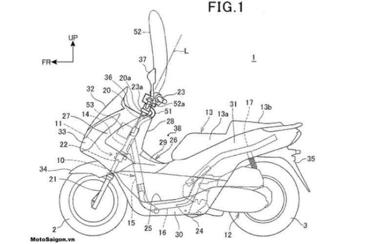 Sistem airbag baru Honda