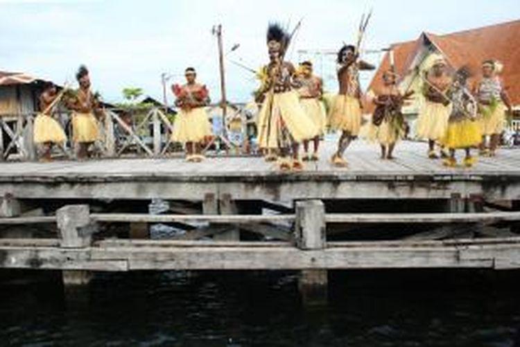 Tarian Suku Sentani
