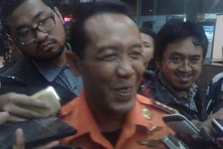 Kepala Badan SAR Nasional (Basarnas) Marsekal Madya TNI FH Bambang Soelistyo, saat ditemui di Kantor Basarnas, Jakarta Pusat, Senin (12/1/2015).
