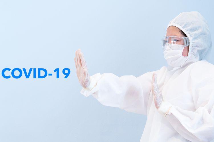 Ilustrasi APD untuk tenaga kesehatan Covid-19