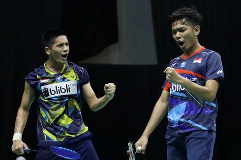 Rekap dan Klasemen PBSI Home Tournament Ganda Putra, Fajar/Yeremia Perkasa