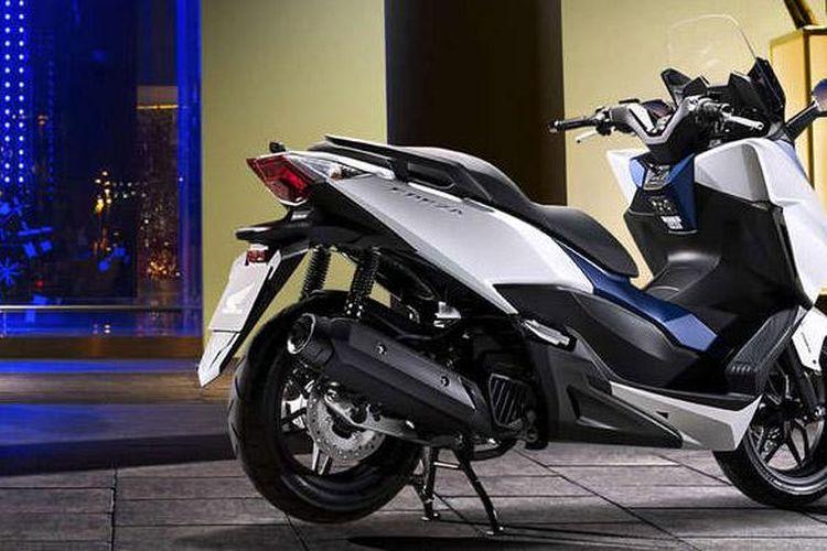 Skutik bongsor terbaru Honda Forza sudah dipasarkan di Eropa.