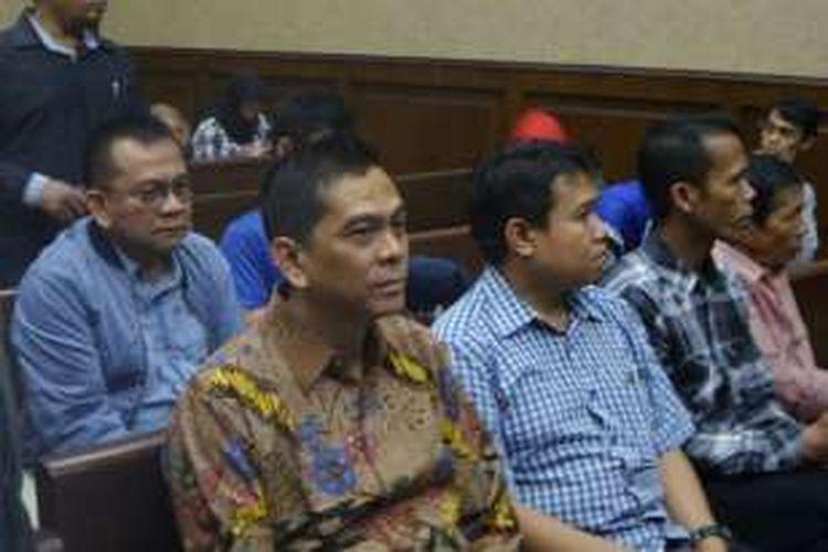 Tersangka kasus suap raperda reklamasi, Mohamad Sanusi, akan segera mendengar dakwaannya di Pengadilan Tipikor, Jalan Bungur Besar Raya, Rabu (24/8/2016).