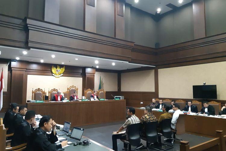 Sidang pemeriksaan saksi untuk mantan Direktur Keuangan PT Angkasa Pura II Andra Y Agussalam
