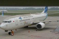 Penerbangan di Bandara Ahmad Yani Terganggu Abu Kelud