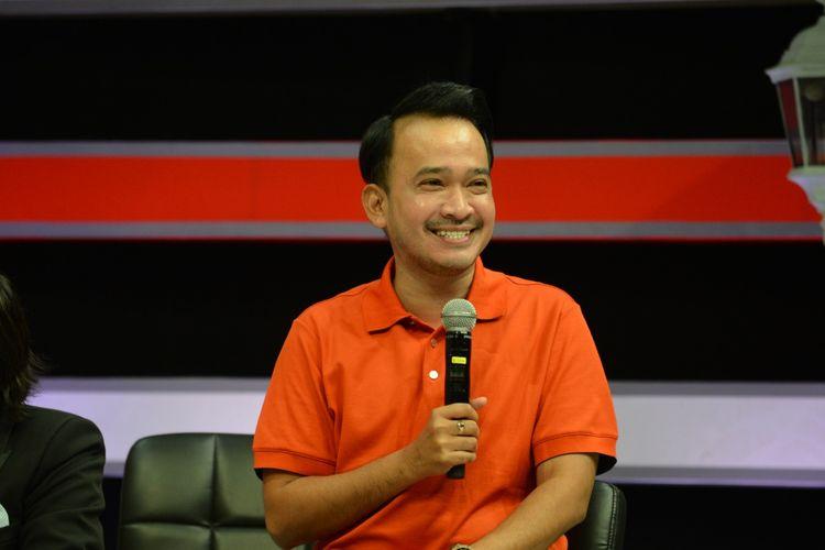 Ruben Onsu dalam konfrensi virtual ITA 2020. (Foto dokumentasi ITA 2020).