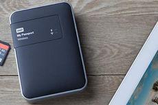 """Harddisk Portable"" WD Dilengkapi WiFi dan Slot SD Card"
