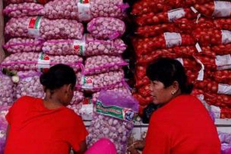 Ilustrasi: Salah satu komoditas penyumbang inflasi