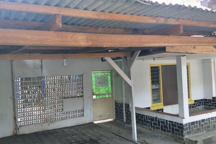 Klinik aborsi di Jalan Paseban Raya Nomor 61, Paseban, Senen, Sabtu (15/2/2020).