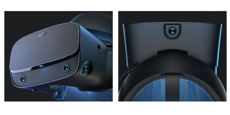 Ilustrasi sensor kamera Oculus Rift S