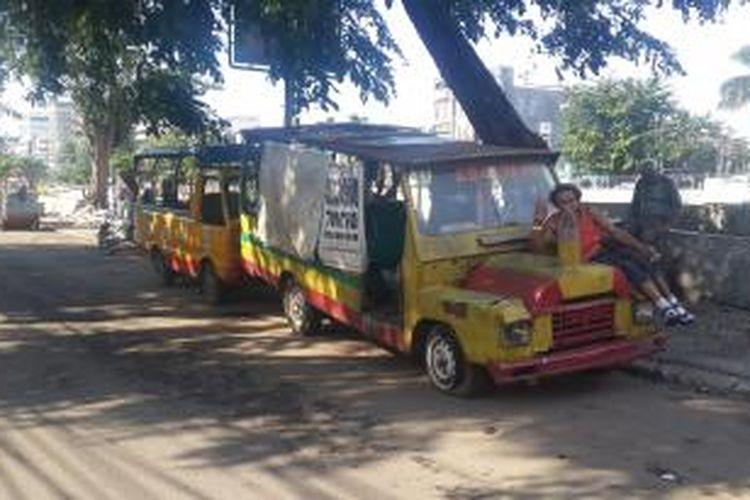 Mobil Odong Odong Rongsok Jadi Tempat Mesum