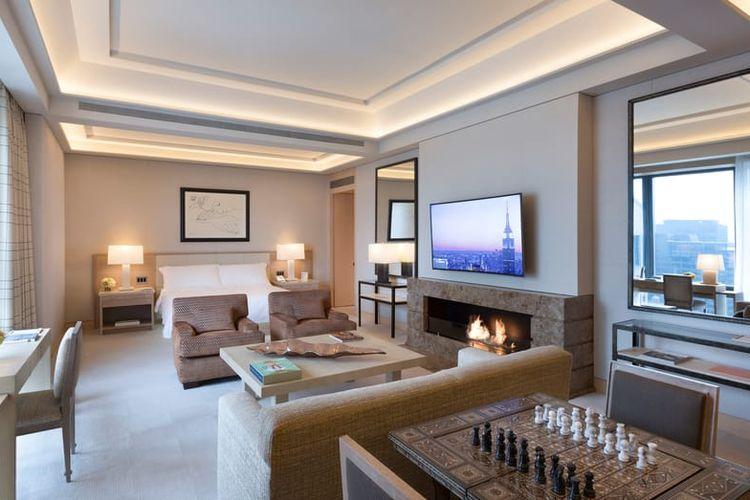 Salah satu tipe kamar di Hotel Four Seasons New York.