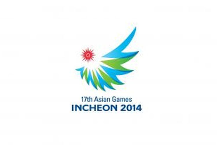 Lambang Asian Games 2014 di Incheon, Korea Selatan.
