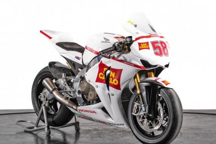 Honda CBR1000RR peninggalan Marco Simoncelli.