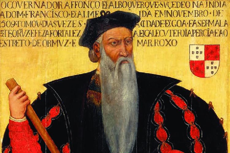 Lukisan Alfonso de Albuquerque.