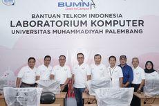 Direksi Telkom Berbagi Inspirasi dengan 3.000 Mahasiswa di Palembang