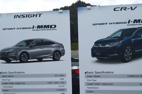Sistem Hybrid Baru Honda Sport i-MMD, Rumit tapi Anti-Lemot
