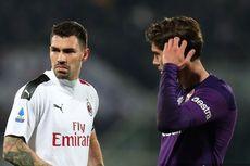 Fiorentina Vs AC Milan, Rossoneri Bermain Imbang Lawan 10 Pemain