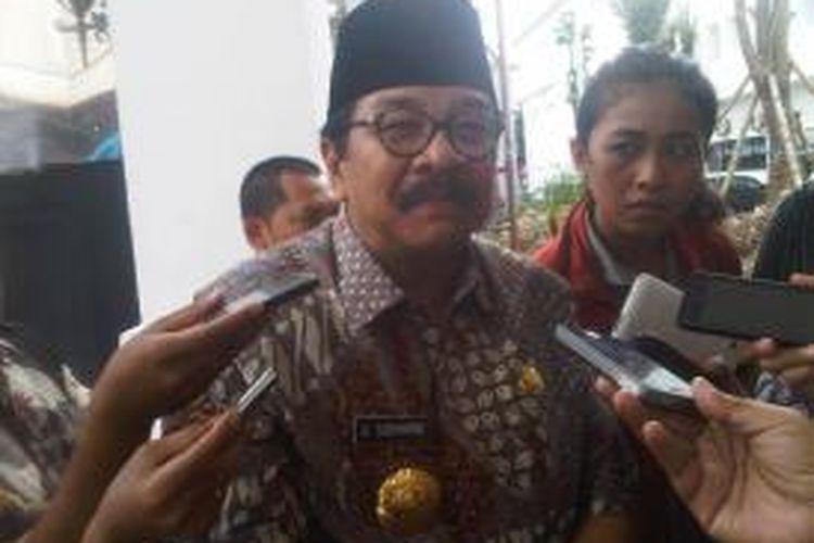 Gubernur Jawa Timur Soekarwo.