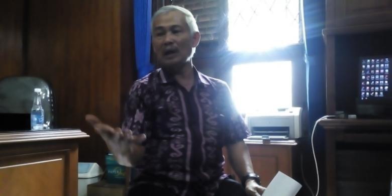 Sekretaris MUI Jabar Rafani Achyar saat ditemui di kantor MUI Jabar, Jalan  R.E Martadinata Bandung, Jumat (5/2/2016)