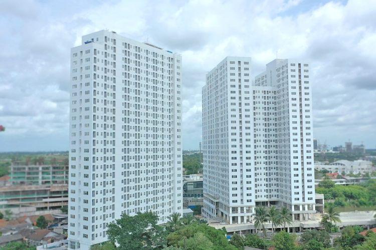 Hutama Anugrah Propertindo melanjutkan proses sera terima kunci apartemen Serpong Garden meski di Tengah situasi pandemi Covid-19.