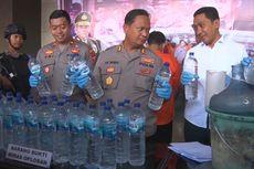 Polisi Tangkap Produsen Miras Oplosan Alkohol 90 Persen di Tulungagung