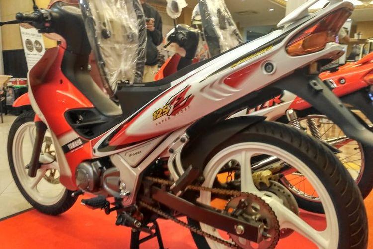 Yamaha 125z hasil restorasi Tian NK