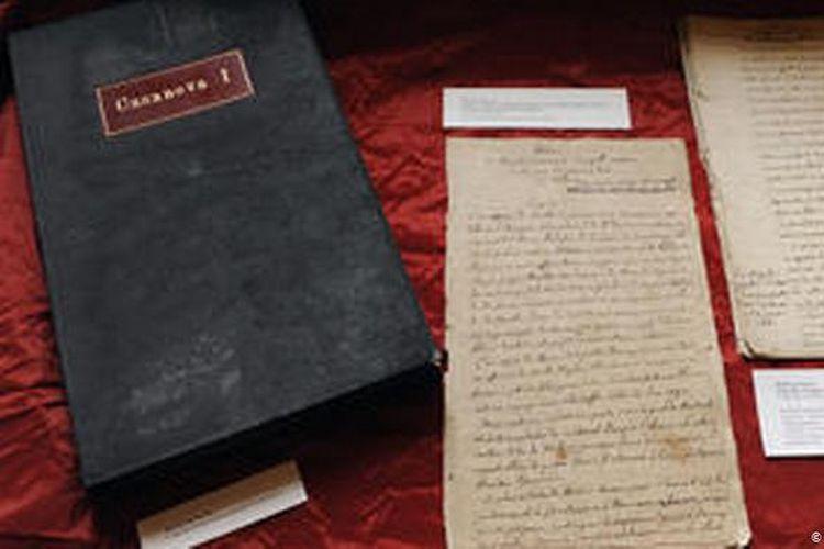 Manuskrip asli buku Giacomo Casanova di Paris, Perancis