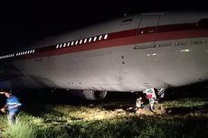 Fakta Pesawat Garuda Tergelincir di Makassar, Bawa 14 Penumpang dan Hendak Lepas Landas