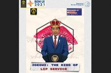 BEM UI Causes Stir For Lampooning Indonesian President Joko Widodo