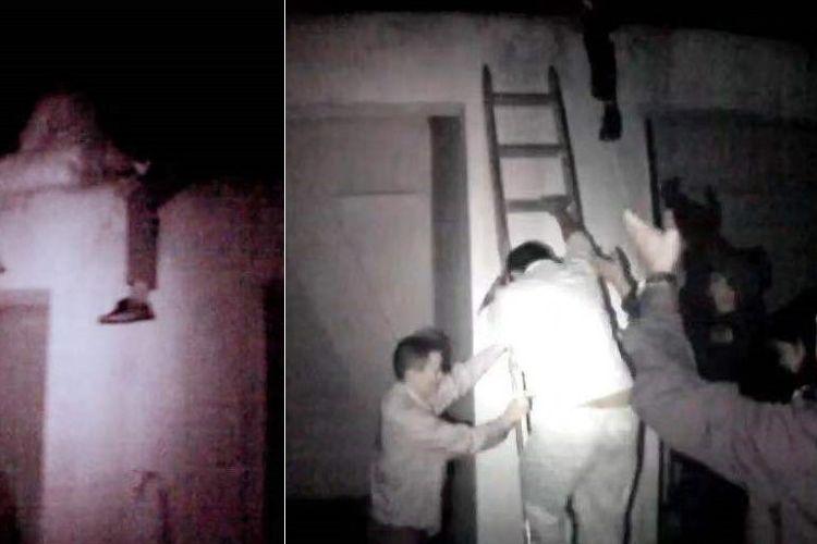 Wang, seorang pria di China turun setelah mencoba bunuh diri dengan jatuh dari puncak apartemen 33 lantai. Wang berniat mengakhiri hidup setelah tahu sang istri habis Rp 600 juta untuk harbolnas setempat.