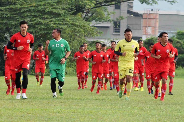 Semen Padang kembali menggelar latihan setelah libur seminggu