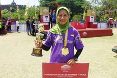 Tua-tua Dapat Rp 15 Juta pada Borobudur Marathon 2019