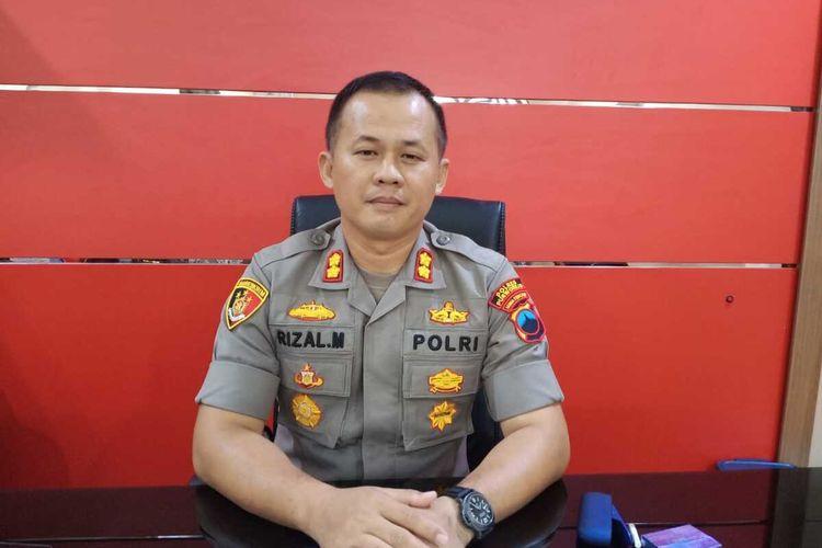 Kapolres Purworejo AKBP Rizal Marito ditemui di ruang kerjanya, Sabtu (15/2/2020).