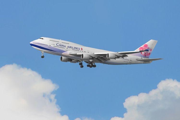 Pesawat milik maskapai China Airlines.