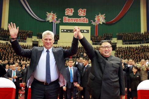 Di Pyongyang, Presiden Kuba Dapat Sambutan Khusus dari Kim Jong Un