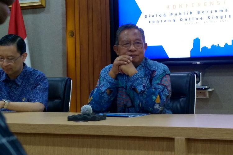 Menteri Koordinator Bidang Perekonomian, Darmin Nasution.