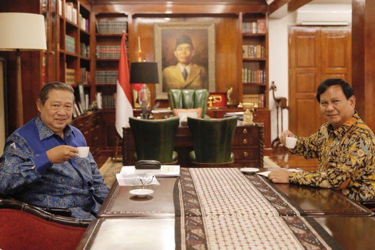 Hubungan Demokrat dan Koalisi Prabowo-Sandiaga Pasca-Pemilu..