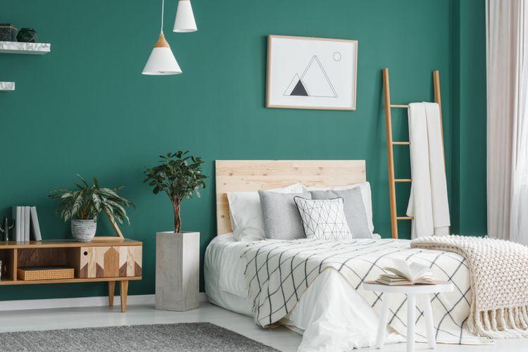Ada beberapa kesalahan dalam memilih warna cat di kamar tidur yang harus diperhatikan.