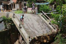 Jembatan Penghubung Kabupaten Grobogan dan Boyolali Ambrol, Warga Putar Arah hingga 10 Km