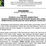 Daftar Link Hasil Administrasi CPNS 2019 Kemenkumham untuk Lulusan SMA di Pulau Jawa
