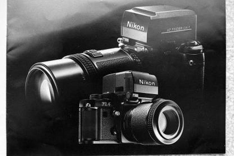 Nikon F3AF, kamera auto fokus bagi profesional.
