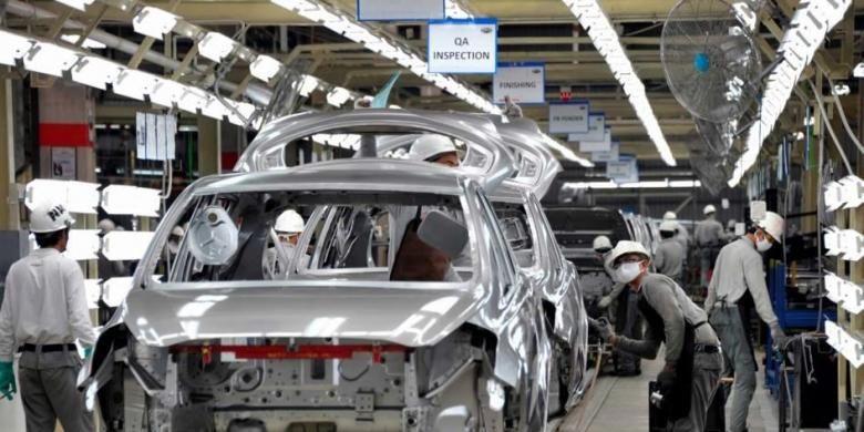 Nissan Motor Indonesia meresmikan pabrik baru di kawasan industri Purwakarta Jawa Barat, 8 Mei 2014. Pabrik seluas total 16 hektare itu untuk saat ini hanya akan digunakan untuk memproduksi MPV murah Datsun, Go  Panca.