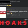 [HOAKS] Alfamart Bagi-bagi Hadiah untuk Rayakan Toko Ke-1.000