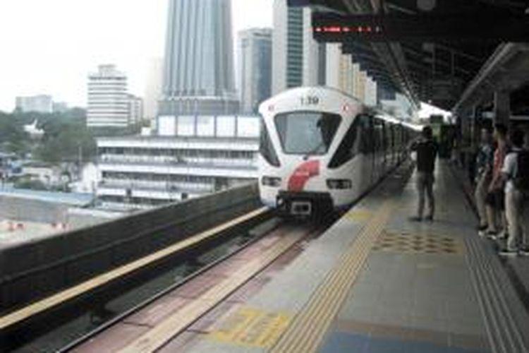 Layanan light rail transit (LRT) dengan nama Rapid KL yang beroperasi di Kuala Lumpur, Malaysia.