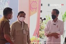 Bersama Prabowo, Jokowi Tinjau Vaksinasi Covid-19 di Kaltim