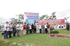 Patung Pahlawan Nasional Depati Amir Setinggi 12 Meter Dikerjakan Seniman Bali